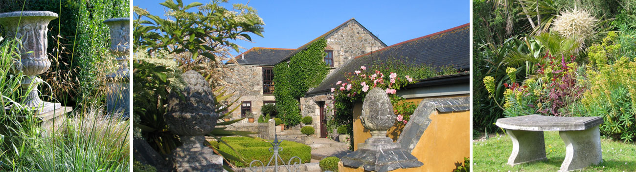 Contact Ednovean Farm in Corwall to book luxury bed and Breakfast