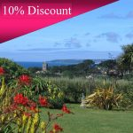10% discount lovely garden and sea view