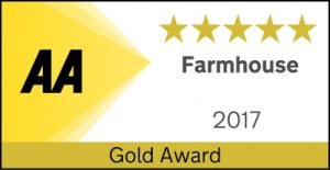 Five star Gold B&B award - ednovean farmhouse