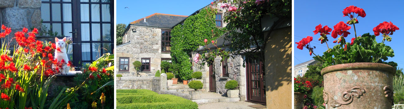Ednovean Farm luxury Farmhouse Bed and Breakfast with sea views near Penzance