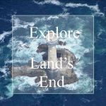 Explore Land's End lighthouse in sea