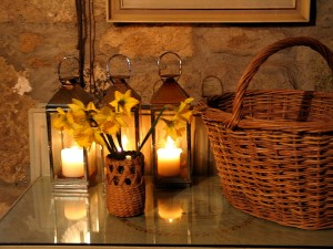 Candles and Daffodils