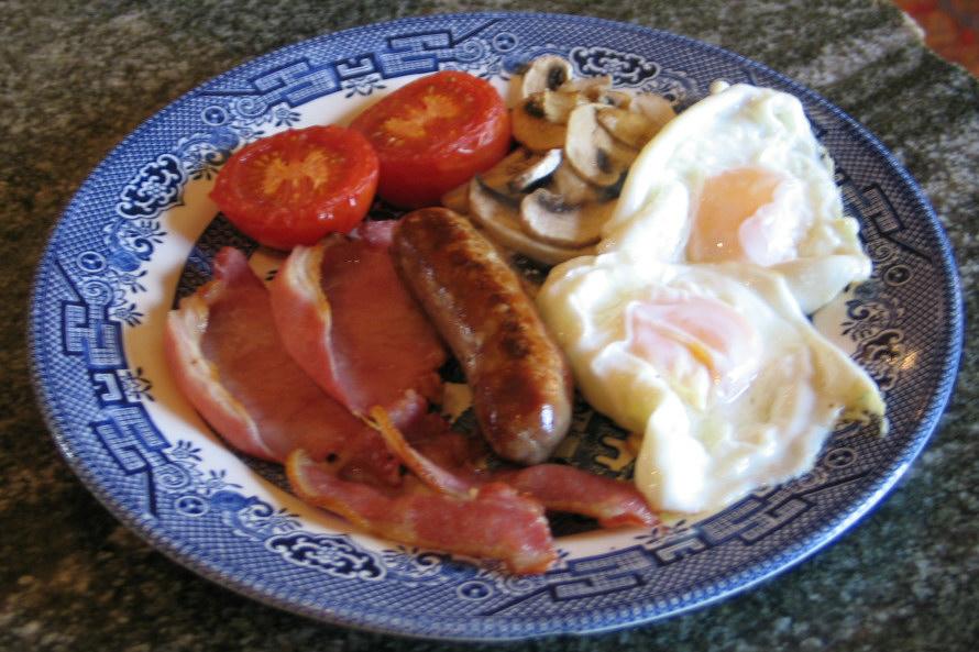 Ednovean Farm breakfast Penzance Cornwall