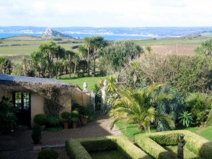 Ednovean Farm view to St Michaels Mount and Penzance