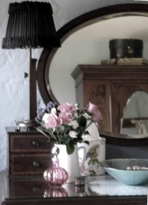 Vintage style in a luxury bed and breakfast bedroom