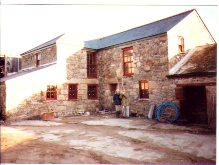 Renovating a traditional cornish barn