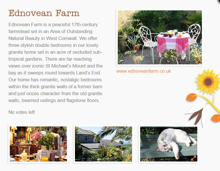 Ednovean Farm a luxury B&B