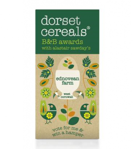 Ednovean Frm and the Dorset Cereal pack