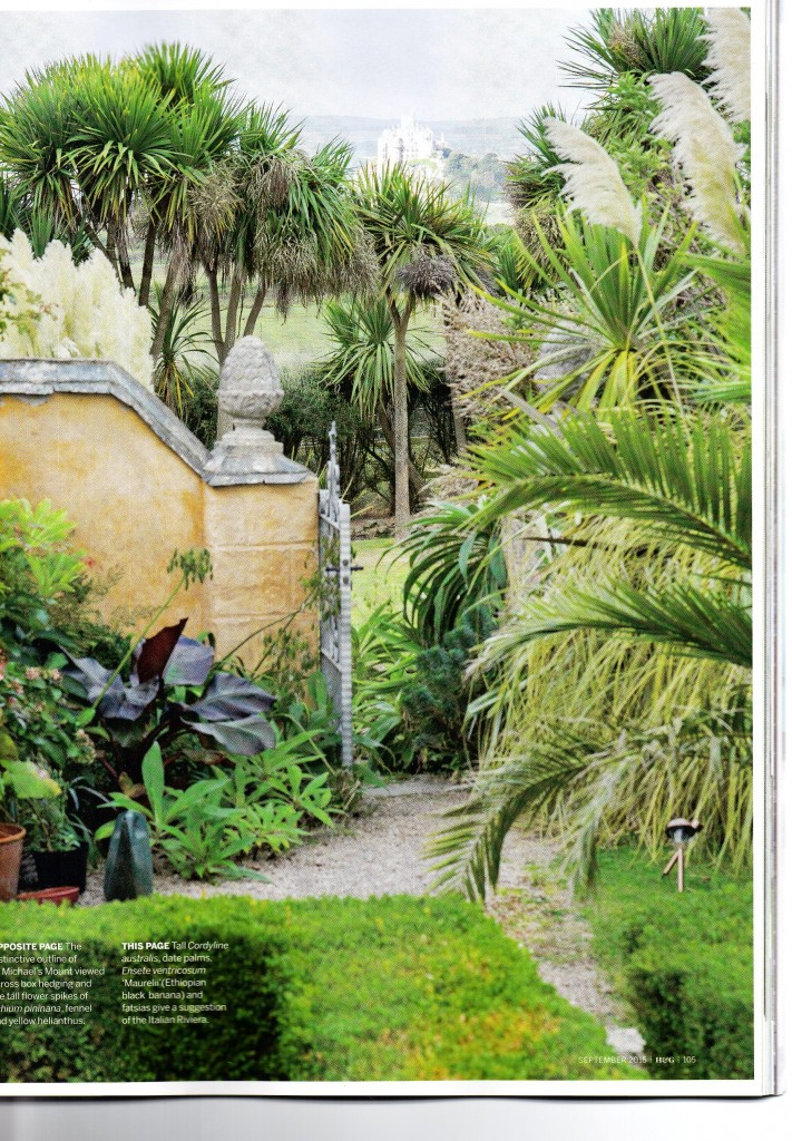 Ednovean Farm in September's Homes and Gardens