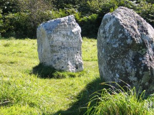 Boscawen- un a bronze age stone circle just off of the Penzance to Lands end road quite near to St Buryan