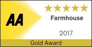 AA Five star Gold Farmhouse award