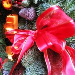 bright Christmas bows