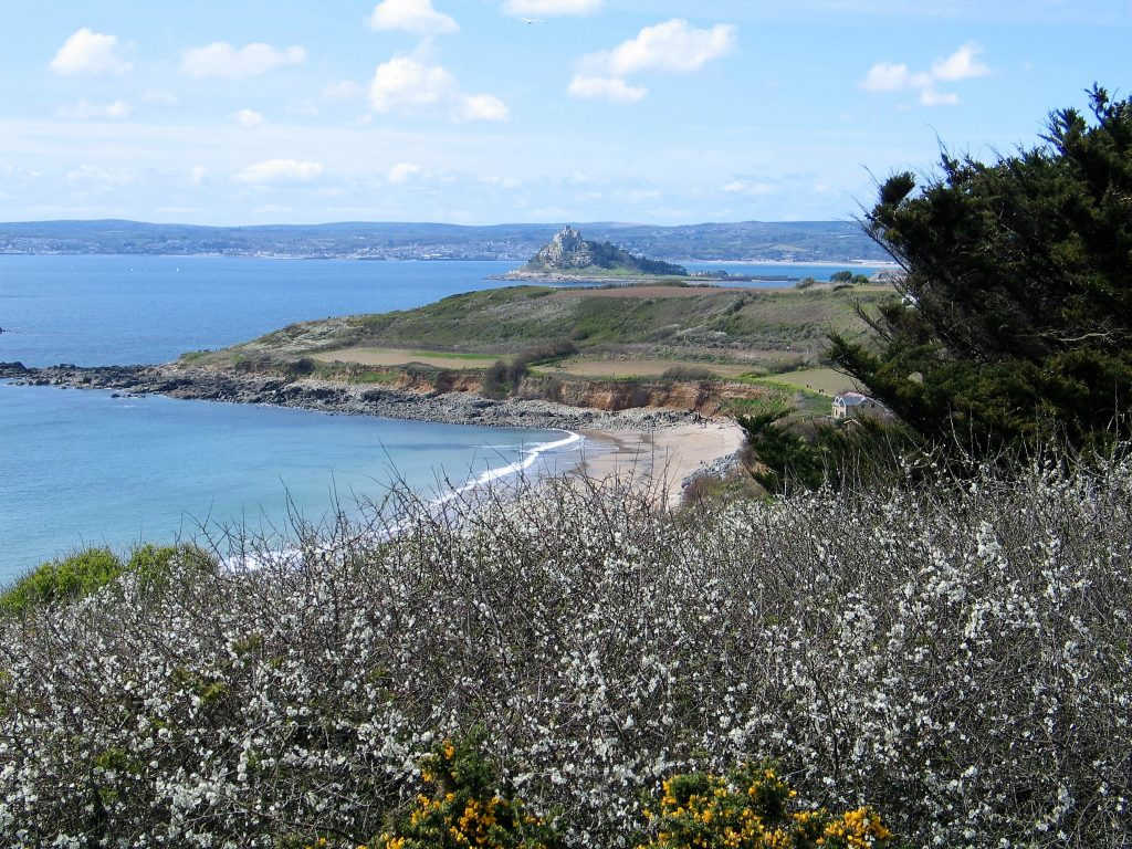 Mounts Bay in the Spring