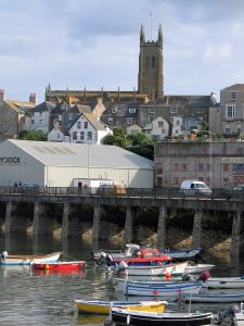 Penzance has a busy commercial and leisure harbour - great for an evening stroll