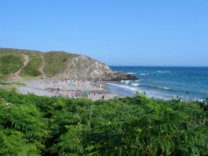 Kennack Sands on the Lizard Peninsular in Cornwall