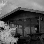 Nordic style cabin beach cafe in Perranuthnoe