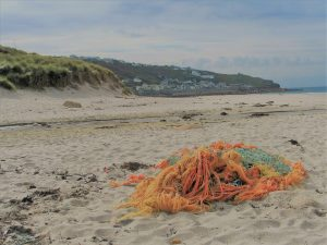 flotsam on the sands