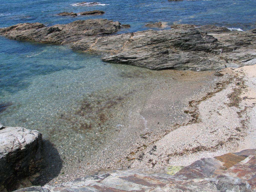 summer memories of secluded coves