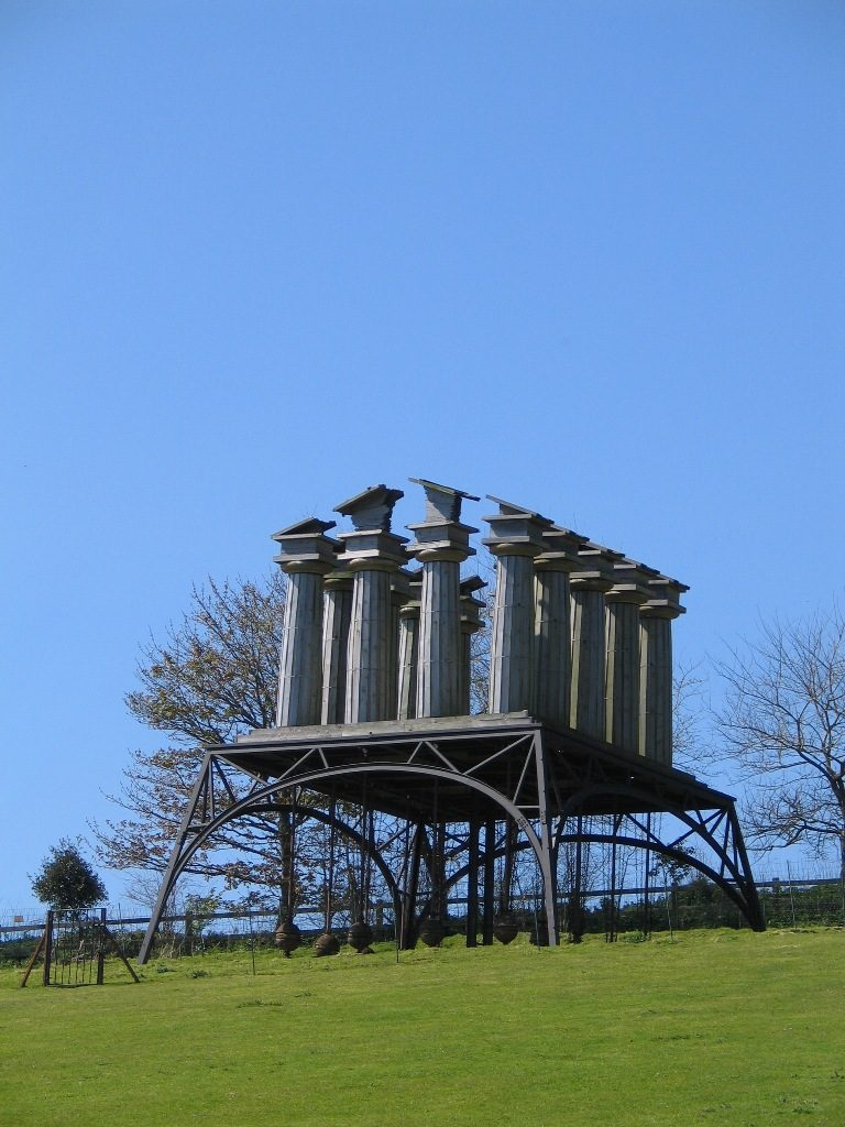 the restless temple - a representation of tradition architecture designed to move in the wind