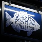 fish restaurant sign - rick stein