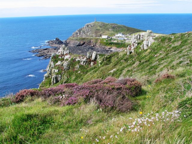 Cape Cornwall and unspoilt peice of cornwall's coastline was used as a film location for a Rosamunde Pilcher film