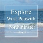 Explore west Penwith Porthminster Beach - wave breaking on a beach
