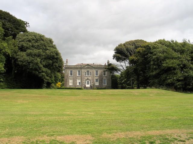 Grand facade - Bonython Estate House