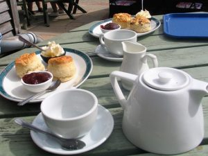 Classic cream tea - Trengwainton Tea rooms