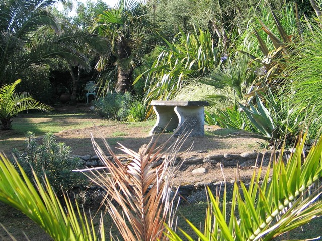 Granite Garden seat