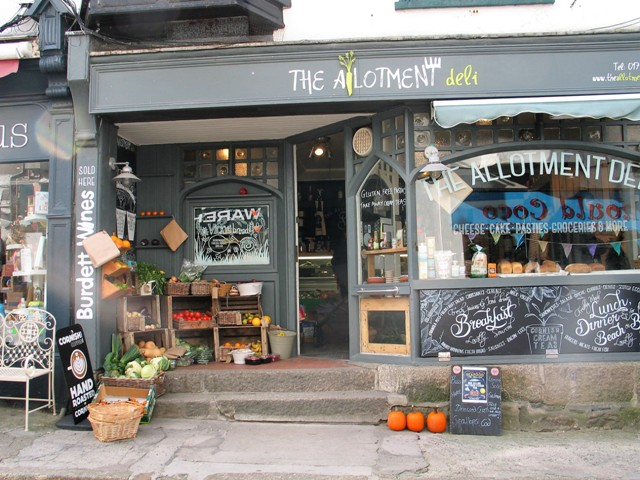 Shop front St Ives