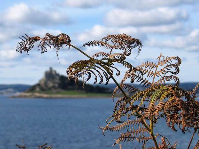 St Michael's Mount - exploring Mounts Bay in the Autumn