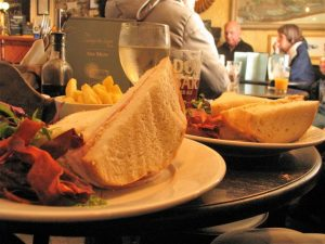 Sandwiches - traditional Cadgwith Inn