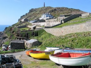boats and cove Cape Cornwall