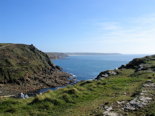 View to Land's End from the peak of Cape Cornwall